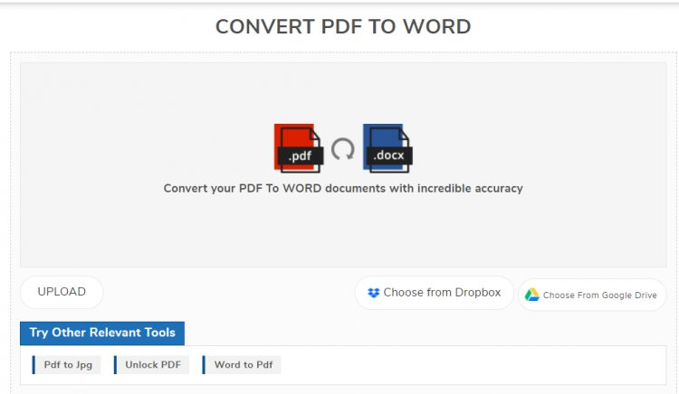 Review: SmallSEOTools PDF to Word converter